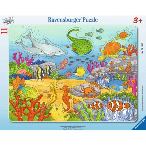 Puzzle creaturi ale marii, 11 piese