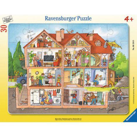 Puzzle inauntrul casei, 30 piese