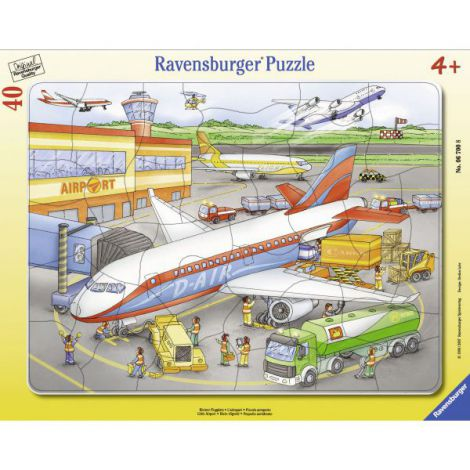 Puzzle mic aeroport, 40 piese