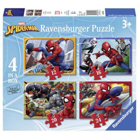 Puzzle spiderman, 12/16/20/24 piese