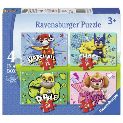 Puzzle paw, 12/16/20/24 piese