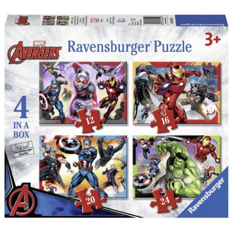 Puzzle avengers 12/16/20/24 piese