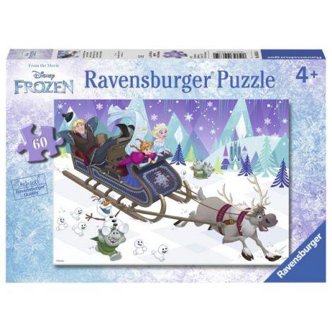 Puzzle Frozen Prieteni pentru Totdeauna, 60 Piese