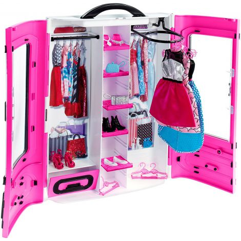 Barbie Fashionista - Dulap Dressing