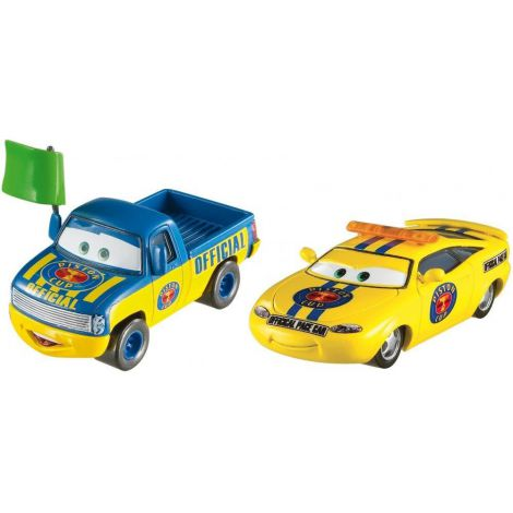 Disney Cars Dexter Hoover si Charlie Checker