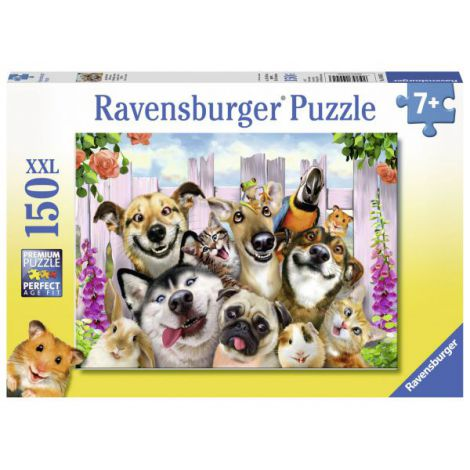 Puzzle Animale Prostute, 150 piese