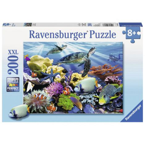 Puzzle Testoase de ocean, 200 piese