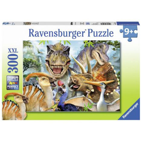Puzzle Poza Dinozaurilor, 300 piese