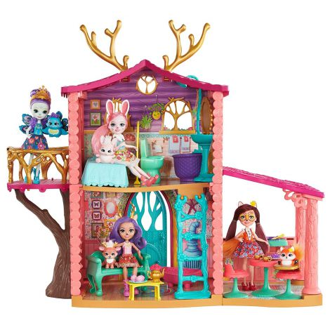 Set de joaca Mattel EnchanTimals Casuta Cerb
