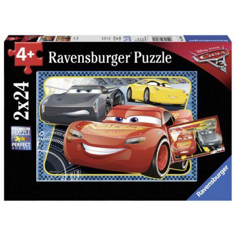 PUZZLE CARS- POT SA CASTIG! 2x24 PIESE