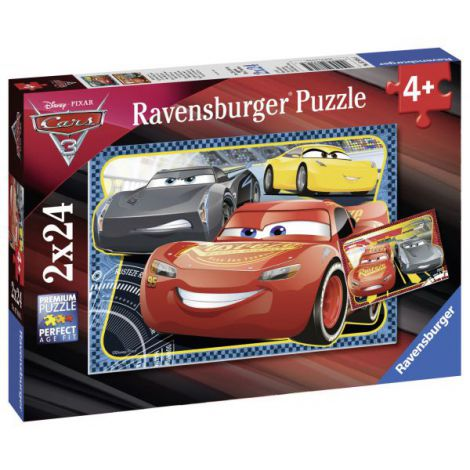 PUZZLE CARS, 2x24 PIESE