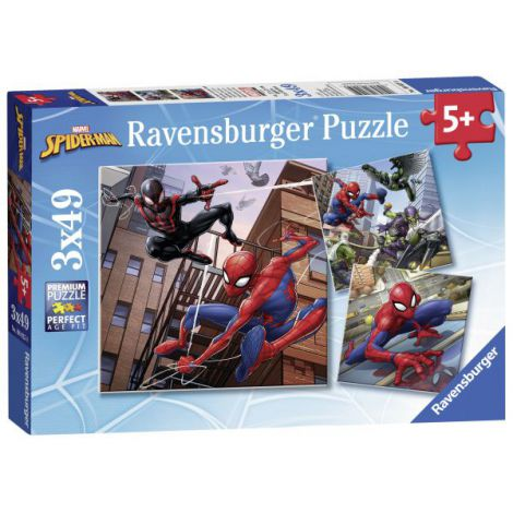 PUZZLE SPIDERMAN, 3x49 PIESE
