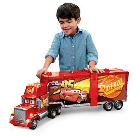 Camion Mack Mega şi pistă de curse 2-în-1 Disney Cars 3