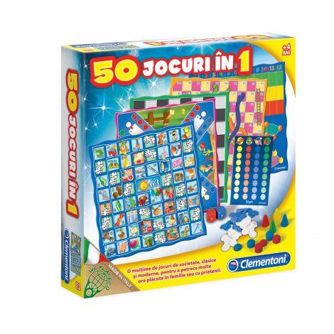 50 jocuri in 1 clementoni 60198