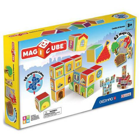 Set Constructie Magnetic Magicube Castles & Homes