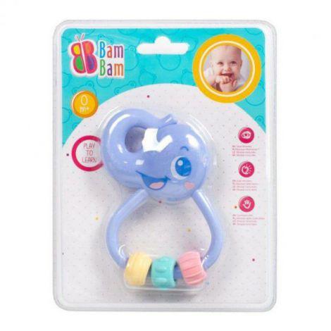 Jucarie Dentitie Zornaitoare Elefant Pastel