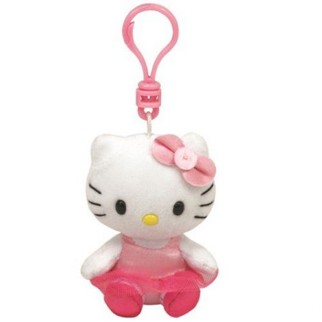 Breloc Hello Kitty balerina (8.5 cm) - Ty