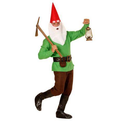 Costum pitic verde adult