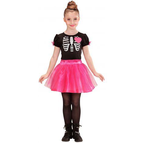 Costum Schelet Balerina Halloween imagine