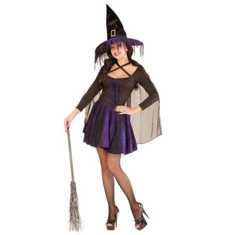 Costum vrajitoare purple