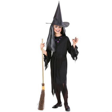 Costum Vrajitoare Copii Halloween imagine