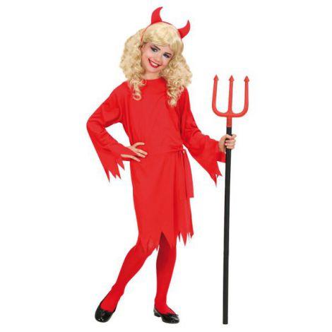 Costum Diavolita Copii Halloween imagine