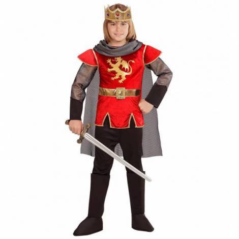 Costum rege arthur rosu