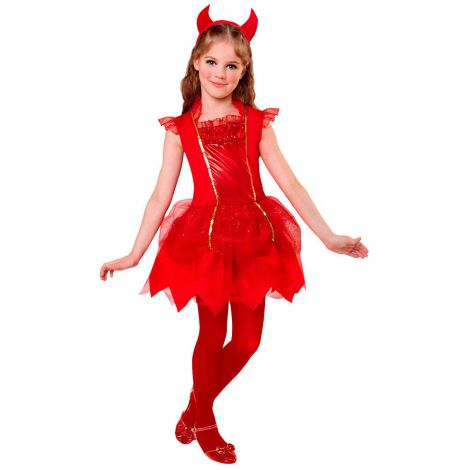 Costum dracusor rosu fetita