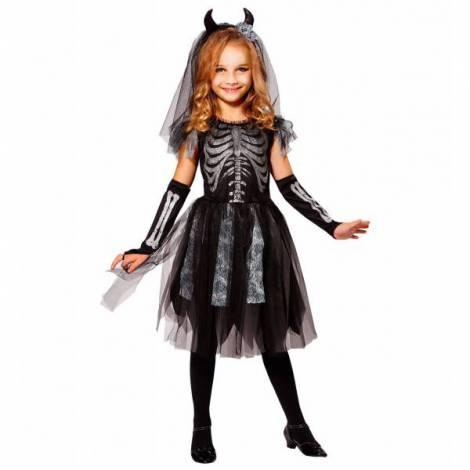 Costum schelet dracusor fetita