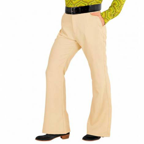 Pantaloni disco bej