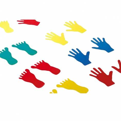 Set picioare si maini din plastic