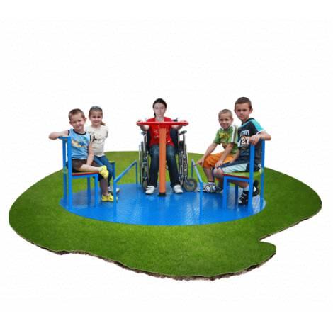 Carusel pentru copii cu dizabilitati