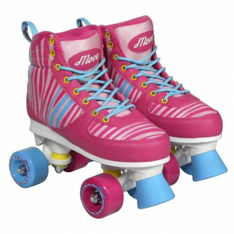 Patine cu rotile power pink mas 34/35