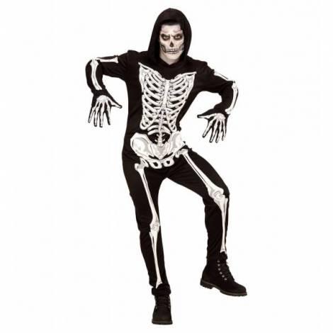 Costum schelet negru infricosator