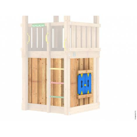 Modul Playhouse pentru turnuri mici - Jungle Gym