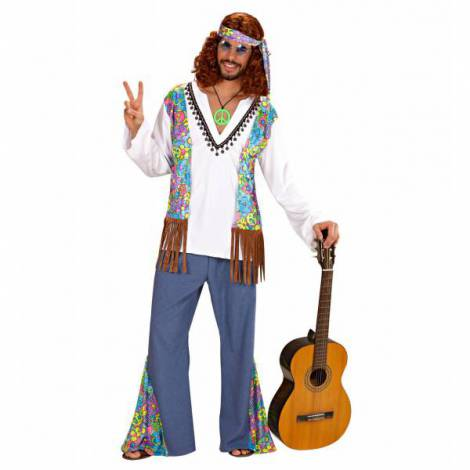 Costum hippie woodstock
