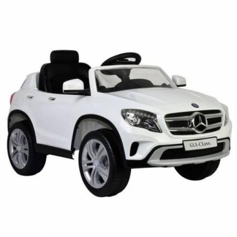 Masinuta electrica copii Mercedes-Benz GLA Class Globo 12V cu telecomanda control parinti 2.4 Ghz cu 3 viteze