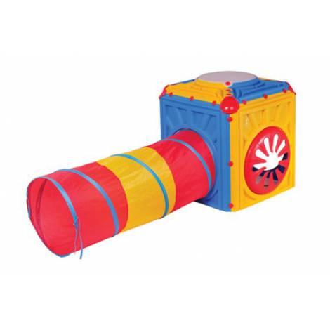 Cub activitati cu tunel flexibil
