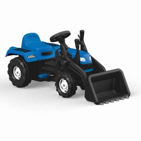 Excavator cu pedale - albastru