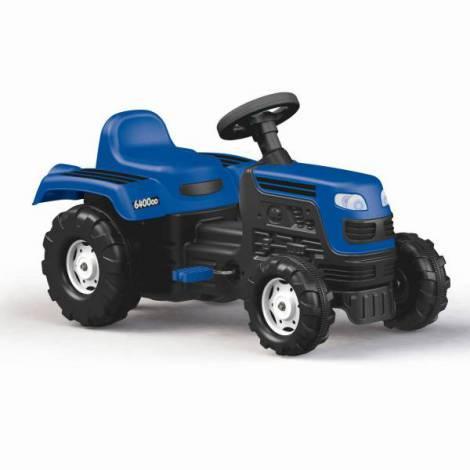 Tractor cu pedale - albastru