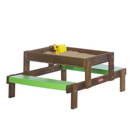 Masuta de picnic 2 in 1 din lemn