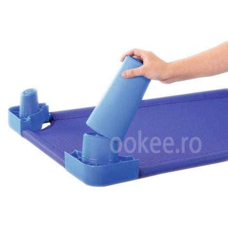 Picioare suplimantare pat- albastru