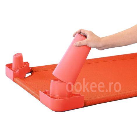Picioare pentru inaltare pat - Rosu