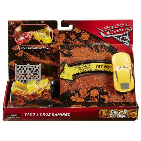 Set masinute Taco si Cruz Ramirez - Disney Cars 3