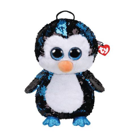 Rucsac cu paiete pinguinul WADDLES - Ty