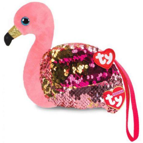 Geanta mana cu paiete flamingo GILDA - Ty