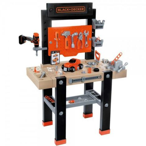 Atelier Smoby Black and Decker bricolo