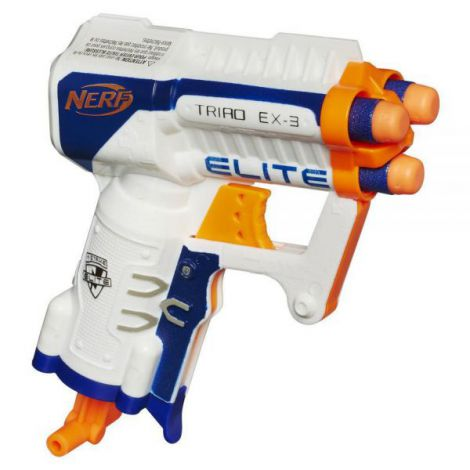 Hasbro blaster nerf nstrike elite triad ex3