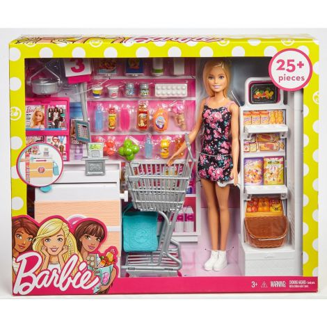Barbie set de joaca supermaket