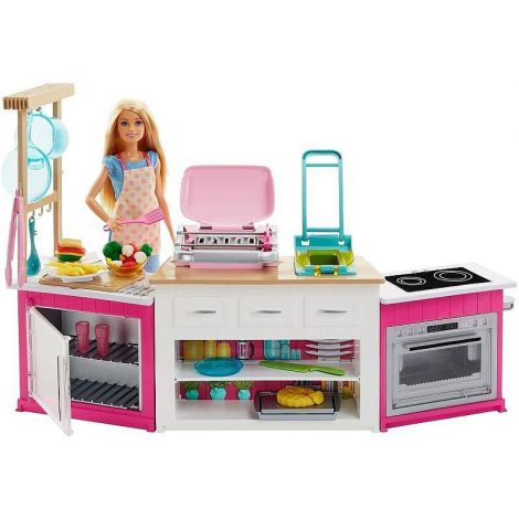 Set de joaca bucatarie utilata Mattel Barbie